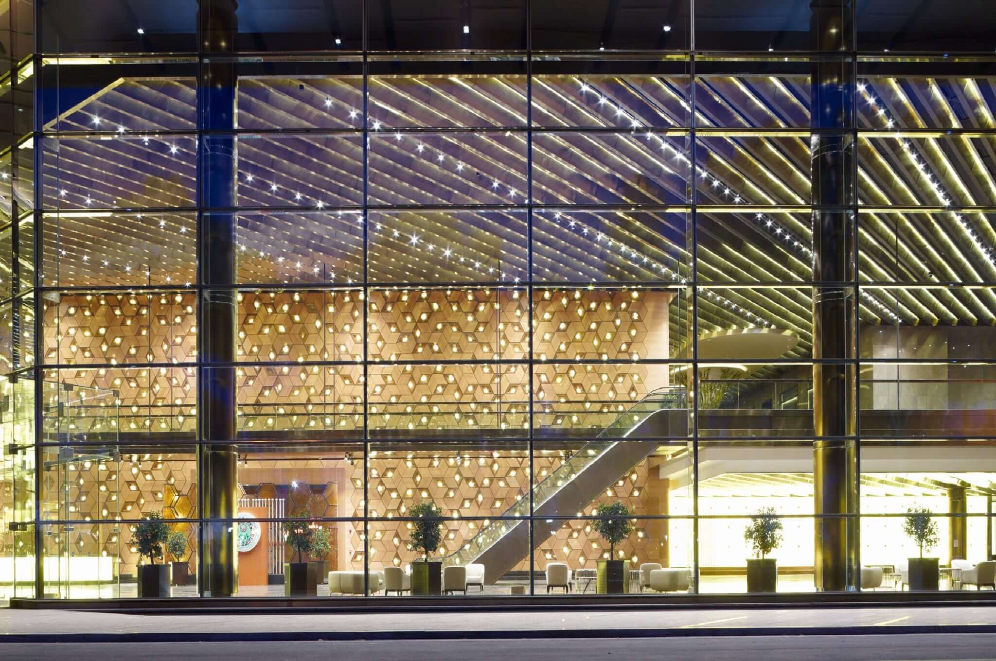 stick system curtain walling
